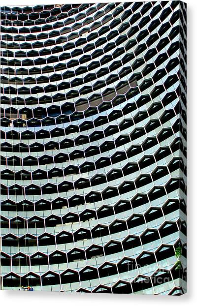 Singapore Skyline Canvas Print - Singapore Architecture 5 by Randall Weidner