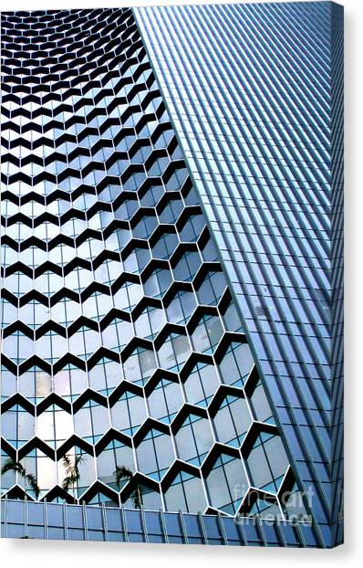 Singapore Skyline Canvas Print - Singapore Architecture 7 by Randall Weidner