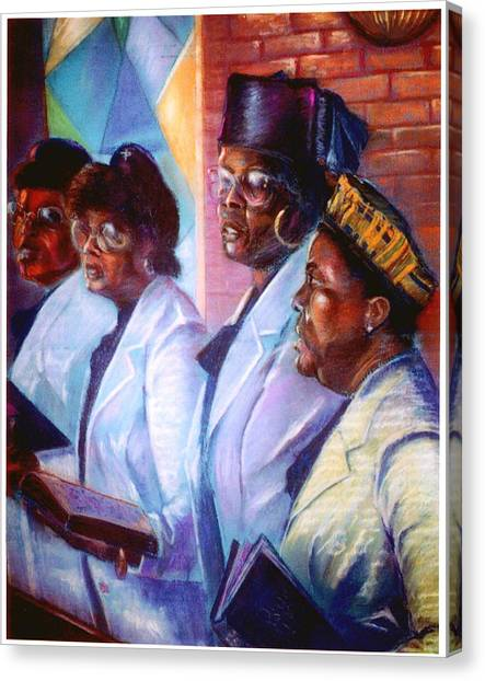 Singin His Praises Canvas Print by Tommy  Winn