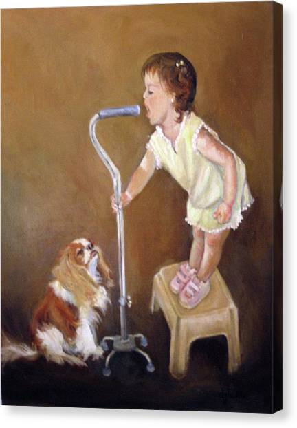 Singin In The Cane Part Two Canvas Print