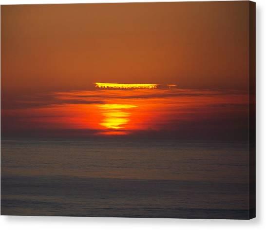 Sinking Sun Canvas Print