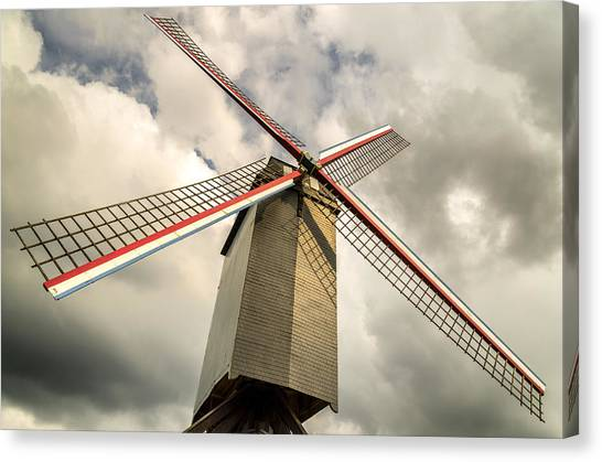 Sint Janshuismolen Windmill 2 Canvas Print