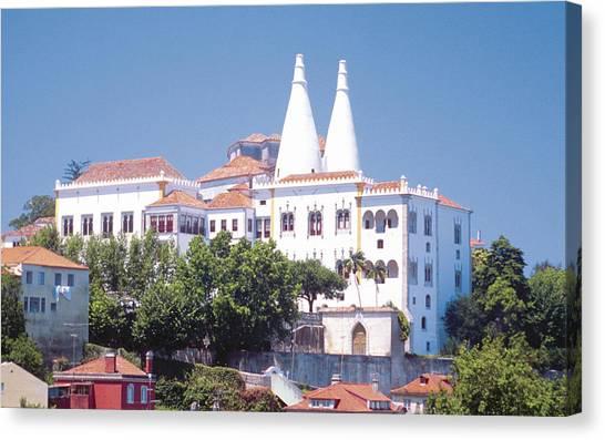 Temple University Canvas Print - Sintra National Palace by Super Lovely