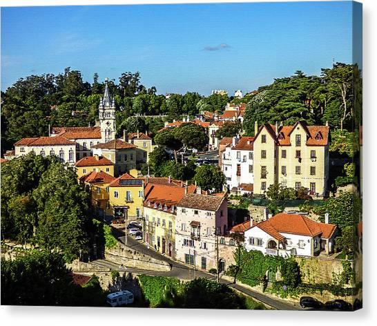 Sintra - The Most Romantic Village Of Portugal Canvas Print