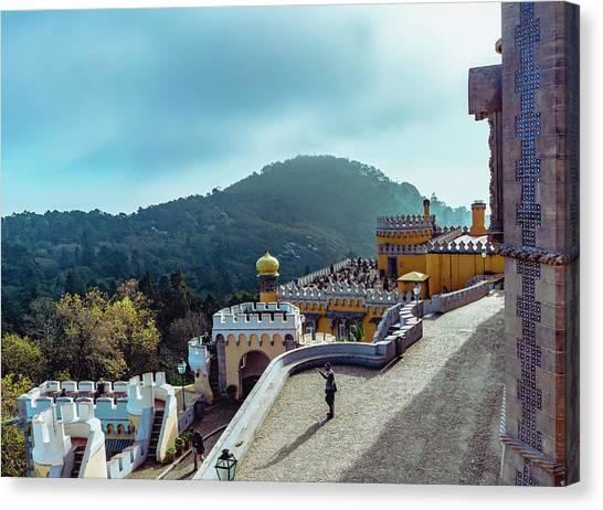 Sintra Views Canvas Print