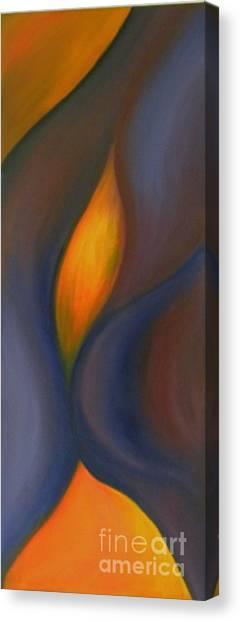Sinuous Curves Canvas Print