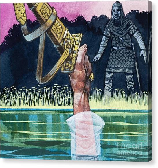 King Arthur And The Lady Of The Lake