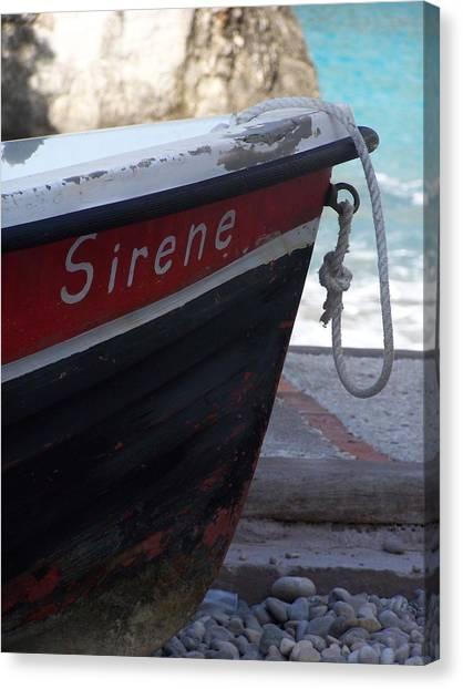 Sirene Canvas Print by Adam Schwartz