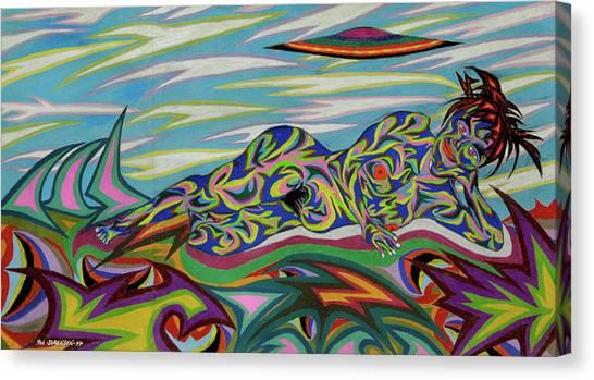 Sirene De Venus Canvas Print