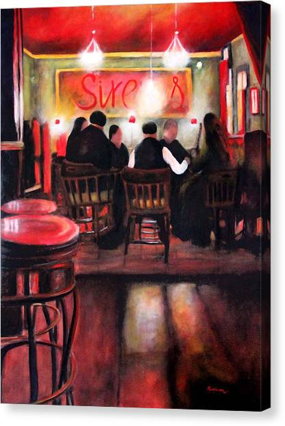 Sirens Pub Canvas Print