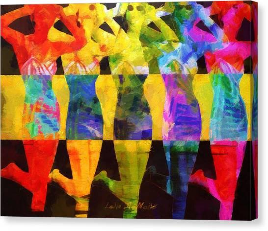 Sistas Canvas Print