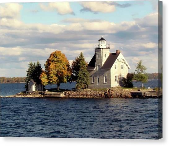 Sister Island Lighthouse Canvas Print