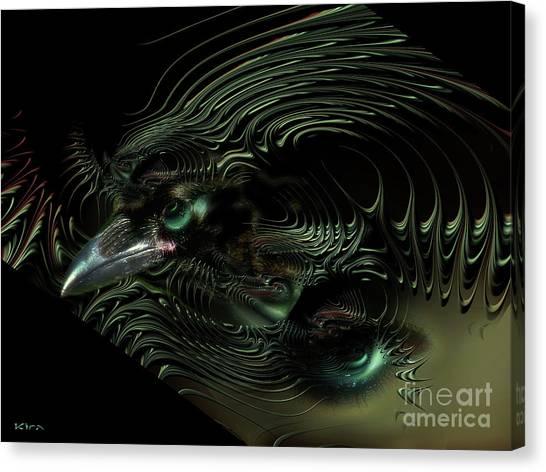 Sister Raven Series - 2 Canvas Print