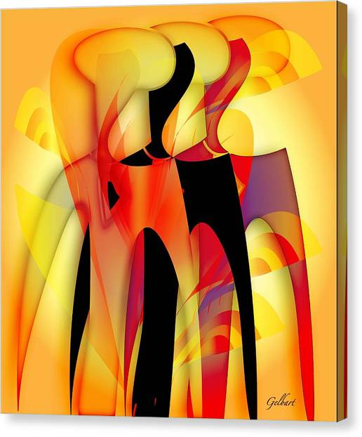 Sisters 4 Canvas Print
