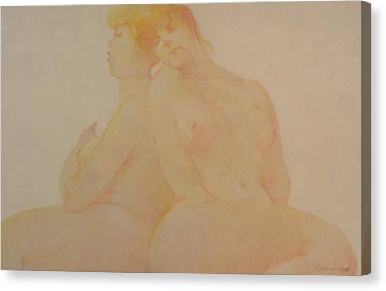Sisters Canvas Print by Gary Kaemmer