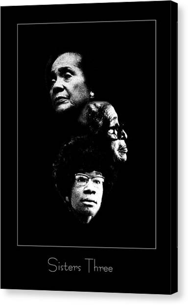 Sisters Three Canvas Print by Richard Gordon