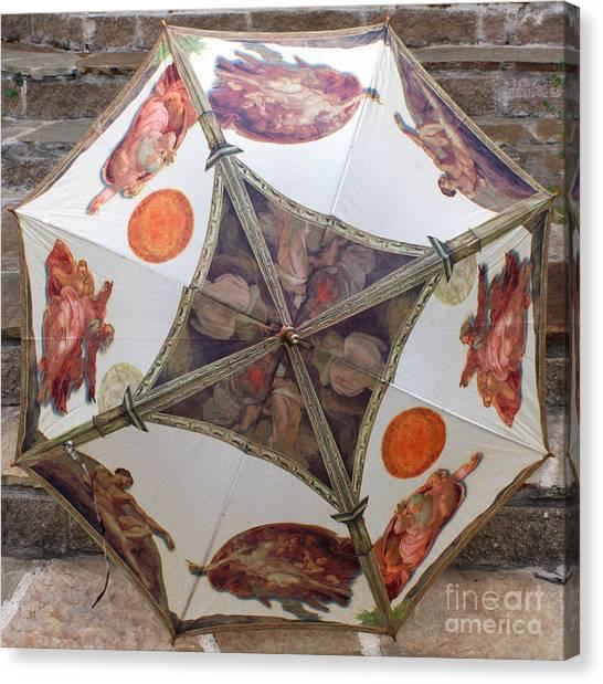 Sistine Chapel Umbrella Canvas Print