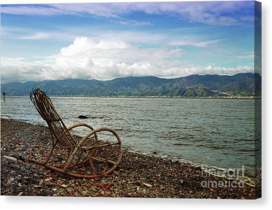 Sit Back And Enjoy Canvas Print