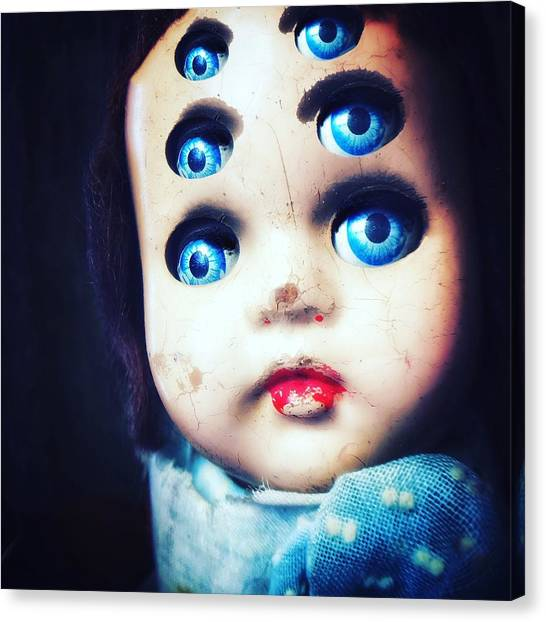 Horror Canvas Print - Six by Subject Dolly
