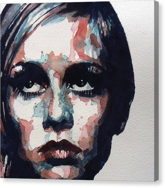 Icon Canvas Print - Sixties Sixties Sixties Twiggy by Paul Lovering