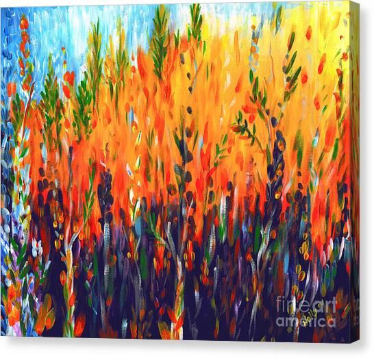 Sizzlescape Canvas Print