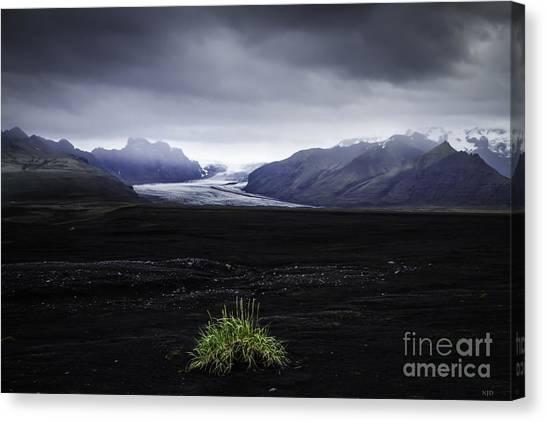 Skaftafellsjokull Glacier Canvas Print