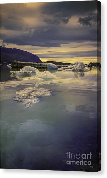 Skaftafellsjokull Lagoon Canvas Print