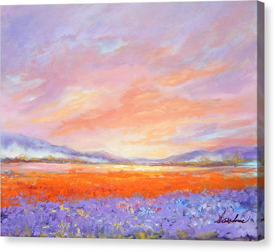 Skaggit Valley Tulips Canvas Print