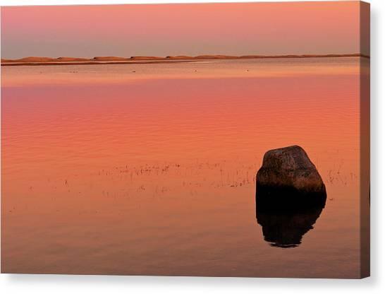Skaket Beach Sunset 1 Canvas Print