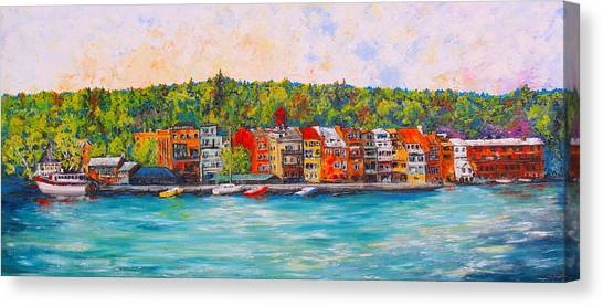 Skaneateles Ny #2 Canvas Print