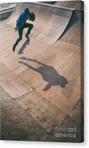 Skater Boy 001 Canvas Print