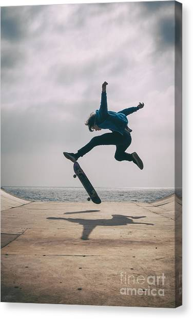 Skater Boy 003 Canvas Print