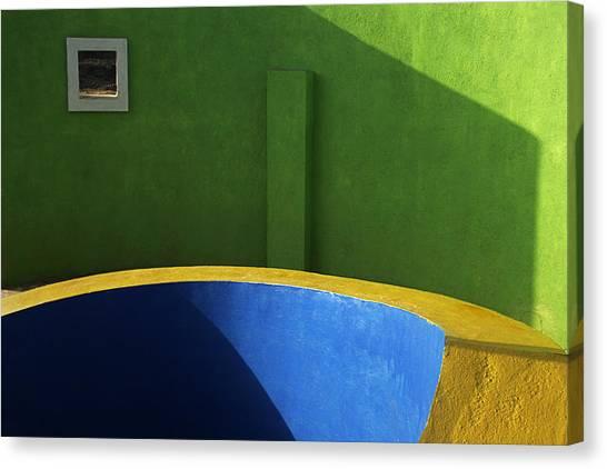 Skc 0305 Fundamental Colors Canvas Print