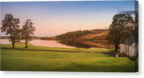 Skeabost House Hotel Golf Course Canvas Print