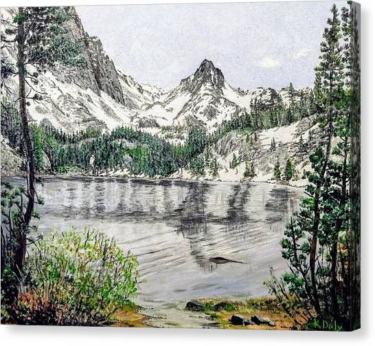 Skelton Lake Canvas Print