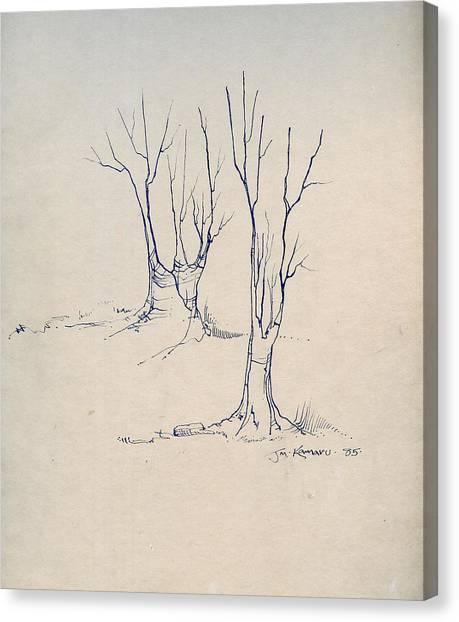 Sketch 4 Canvas Print by Joan Kamaru