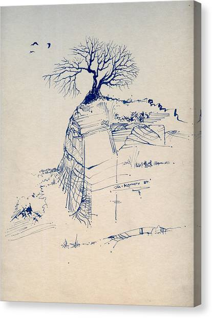 Sketch 7 Canvas Print by Joan Kamaru