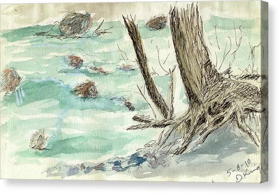 Sketchbook 001 Canvas Print by David King