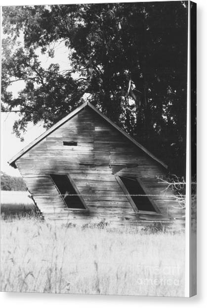 Skewed Canvas Print by The Stone Age