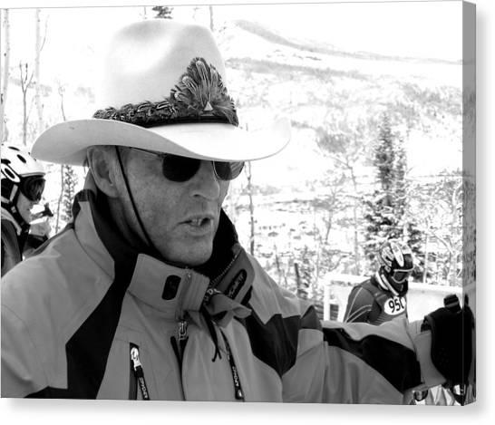 Ski Legend Billy Kidd Canvas Print