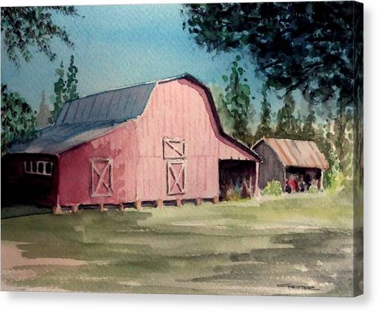 Skip Kelly's Barn Canvas Print