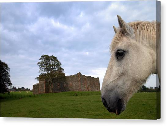 Skipness Castle Canvas Print