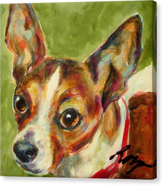 Skippy Canvas Print