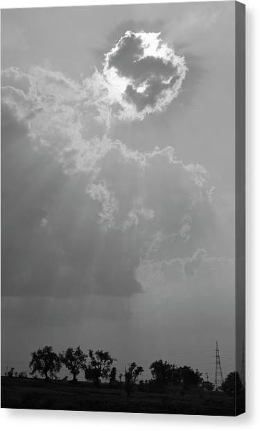 Skn 2170 Blessings Showered Canvas Print