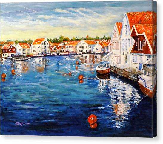 Skudeneshavn Norway Canvas Print