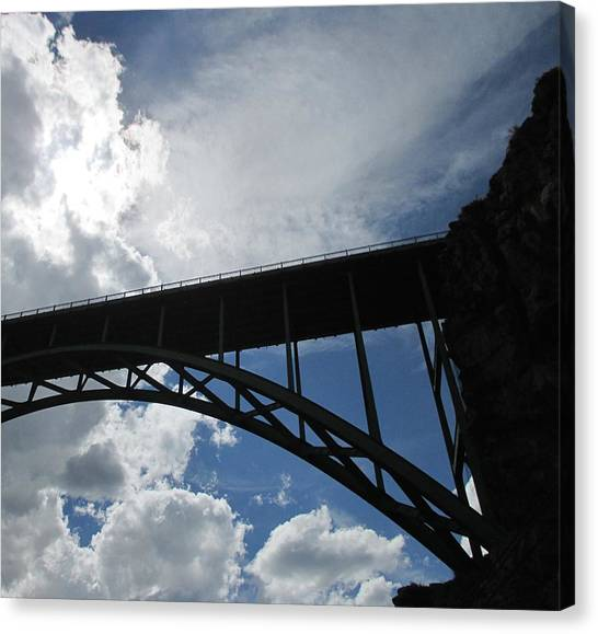 Sky Bridge Canvas Print