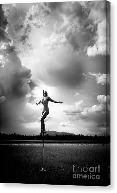 Sky Dancing Canvas Print