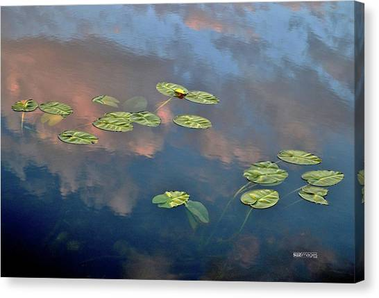 Sky Meets Water Canvas Print