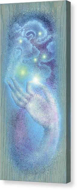 Sky Mudra Canvas Print