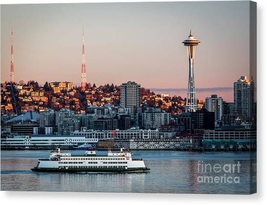 Space Needle.seattle,washington Canvas Print
